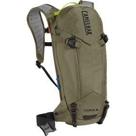 CamelBak T.O.R.O. Protector 8 Hydration Pack dry burnt olive/lime punch